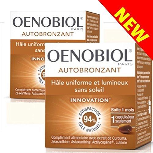 Oenobiol Hâle uniforme et lumineux sans soleil - Lot de 2 boites