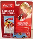Johnny Lightning Coca Cola Brand Calendar Girl Series #8