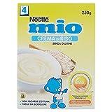 Nestlé Mio - Crema di Riso, senza Glutine, da 4 Mesi - 3 confezioni da 250 g [750 g]