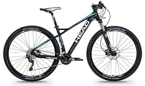 Head X-Rubi III Bicicleta de Montaña, Unisex Adulto, Negro / Azul Mate, S