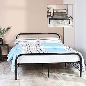 h j wedoo doppelbett metallbett 140x200 cm inkl lattenrost. Black Bedroom Furniture Sets. Home Design Ideas