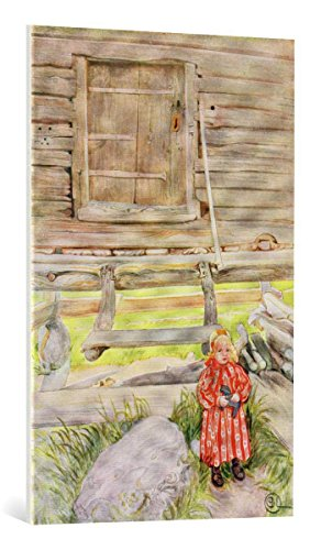 kunst für alle Leinwandbild: Carl Larsson The Old Lodge from a commercially Printed Portfolio published in 1939