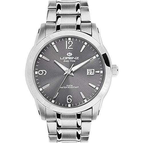 Reloj hombre Lorenz Easy Time negro