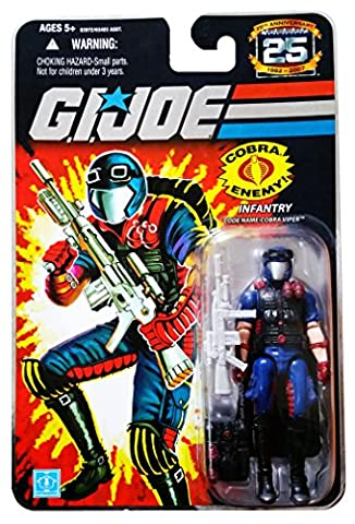GI Joe - 25th Anniversary - Collector Edition - Wave 7 - INFANTRY - Code Name: Cobra Viper