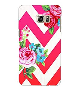 PrintDhaba Flowers D-1176 Back Case Cover for SAMSUNG GALAXY NOTE 5 (Multi-Coloured)