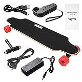 Acecoree Elektro Skateboard Longboard Elektrisches Skateboard Ahorn-Skateboard