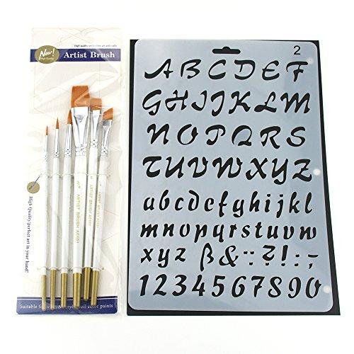 Plantillas de letras para pintar paredes comprapedia - Plantillas de letras para pintar paredes ...