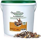 Aniforte Garden Premium Mangime per Scoiattolo 1kg per scoiattoli e scoiattoli di tenendo. Fodera Naturale per scoiattolo