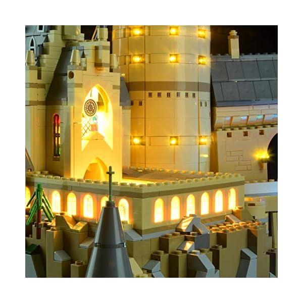 Lightailing Set di Luci per (Harry Potter Castello di Hogwarts) Modello da costruire - Kit luce led compatibile con Lego… 5 spesavip