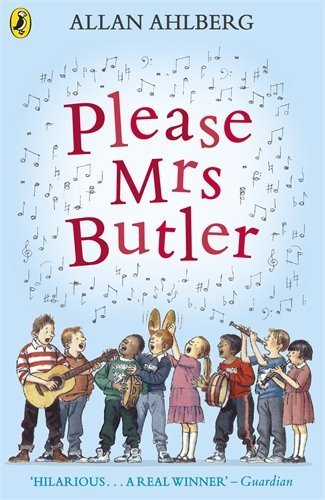 Please Mrs Butler: Verses (Puffin Books) by Allan Ahlberg (1984-08-30)
