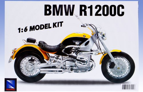 NewRay BMW R1 200 C Motorrad Bausatz 1:6 (DLB20)