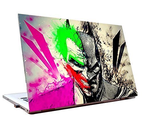 Tamatina Laptop skins 17.5 inch - Batman vs joker - Fan Art - HD Quality - Dell-Lenovo-HP-Acer  available at amazon for Rs.168
