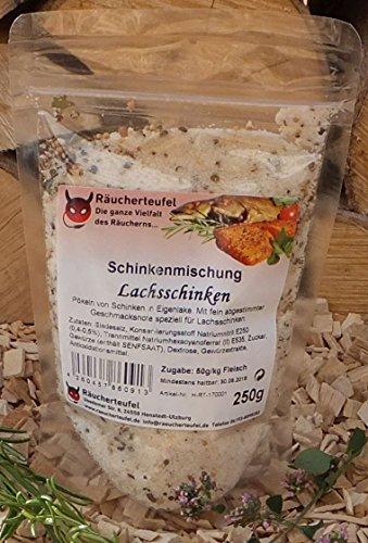 Räucherteufel Schinken-Mischung Lachsschinken 250g