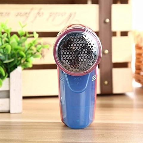 Igemy électrique portable Pull Vêtements Lint Pill Fluff Remover Tissus Fuzz rasoir rose vif