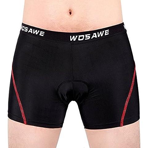 Apollo Sporting Wosawe cortos de conducción al aire libre de silicona que monta la ropa interior