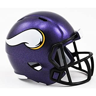 Riddell Minnesota Vikings Originalnachbildung Speed Pocket Pro Micro/Kamerahandys/Mini Football Helm