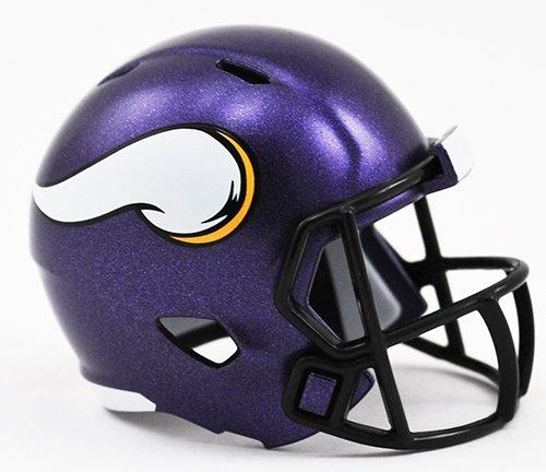 Riddell Minnesota Vikings Originalnachbildung Speed Pocket Pro Micro/Kamerahandys/Mini Football Helm -