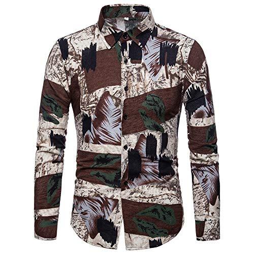 wholesale dealer 1e712 e0003 UJUNAOR Camicie Uomo Maniche Lunghe,Slim,Fit,Camicia con ...