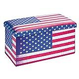 Warren XL - Pouf Coffre Pliant USA