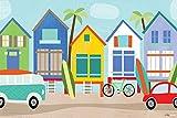 Oopsy Daisy Surf Hütten Leinwand Wand Kunst von Vicky Barone, 30von 20