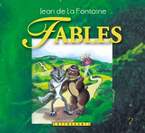 Fables, tome 2 (CD audio) par Jean de La Fontaine