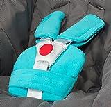 ByBoom - Gurtpolster Set - universal für Babyschale, Buggy, Kinderwagen, Autositz (z.B. Maxi Cosi City SPS, Cabrio, Cybex Aton usw.); In vielen Farben; MADE IN EU, Farbe:Aqua