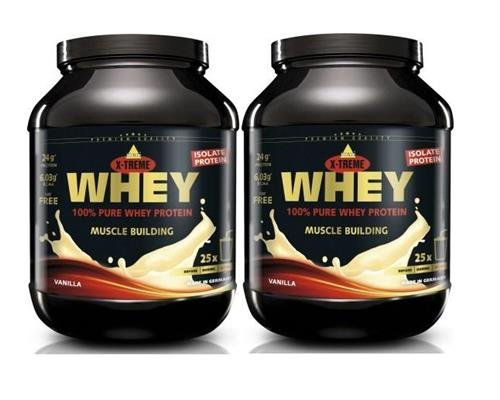 Inko X-Treme Whey Protein 2 x 750g Dose 2er Pack Vanille -