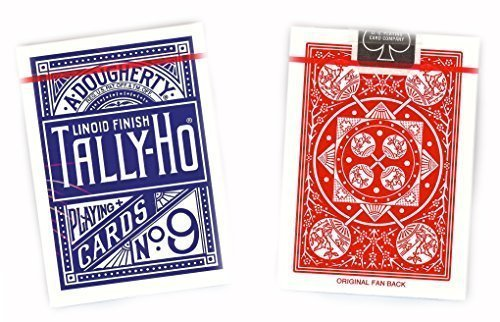 tally-ho-circle-12-decks-pack-by-us-playing-cards-company-6-blue-6-red