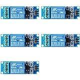 XCSOURCE® 5 Pzas Módulo Opto Emparejador Escudo Relé 1 Canal Para PIC AVR DSP ARM Arduino TE213
