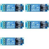 XCSOURCE 5PCS 5V 1 Canal Relais Module Bouclier Optocoupleur Pour PIC AVR DSP ARM Arduino TE213