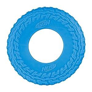 NERF Dog VP6830E Frisbee Jouet pour Chien, Bleu/Vert