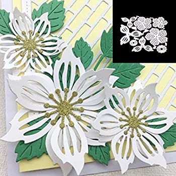 Cutting Dies,KimcHisxXv Lovely Lace Metal Cutting Die DIY Embossing Scrapbook Cards Decorating Tool