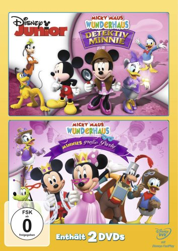 Detektiv Minni/Minnies große Party (2 DVDs)
