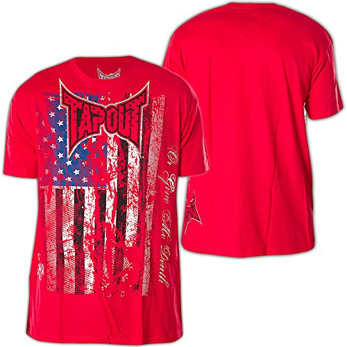 Tapout T-Shirt Hendo Rot Rot