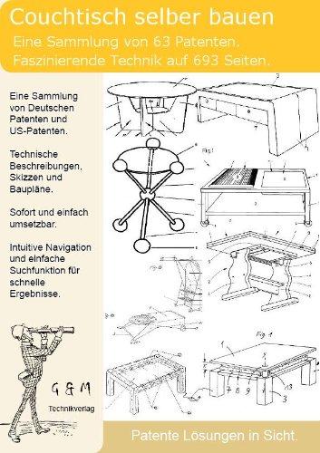 Couchtisch selber bauen: 63 Patente zeigen wie!