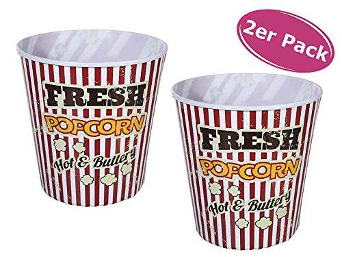 r - Retro Look Popcorneimer wie im Kino, H: ca. 18 cm ()