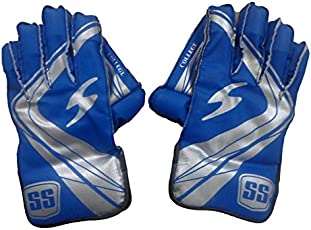 SS College Wicket Keeping Gloves - Youth