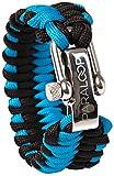 PARALOOP Paracord Armband für Herren/Männer ▪ inkl. Geschenkbox ▪ Verschluss aus Edelstahl ▪ in vielen Farben; Bracelet