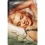 Nostalgic-Art 22107 Hollywood Marilyn Monroe Bed diseño, 20 x 30 cm