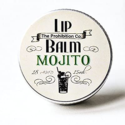 Mojito Cocktail Flavour Lip Balm by The Prohibition Co. 15ml Tin by Half Ounce Cosmetics