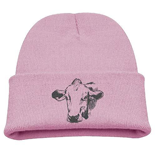 Bauernhof Kuh Silhouette Infant Kleinkind Baby Weiche Nette Reizende Neugeborene Kinder Hut Mützen Caps Für Baby Jungen Mädchen (eine Größe)