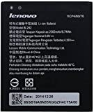 #9: NAVSWA Lenovo Battery BL242 For A6000 / 6000 PLUS- 2300 mAh with Wall Charger Adapter and USB Cable
