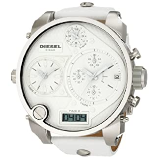 Diesel Analogue Digital White Dial Men's Watch – DZ7194