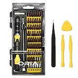 Oria S2 Kit Tournevis de Précision Magnétique, 64 en 1 Tournevis Outils de Réparation avec 56 Embouts pour iPhone 7, iPad, Macbook, Smartphones, Montres, Lunettes et autres Appareils Électronique
