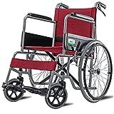 Wheelchair Elderly wheelchair Folding lightweight wheelchair Aluminum alloy wheelchair Disabled wheelchair