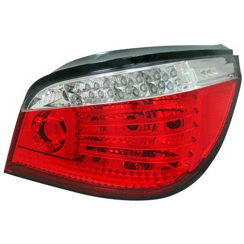 SK1700-10504-ER LED-Rückleuchten für BMW 5 E60 Sdn, ab Bj. 07/03, Rot / Weiß
