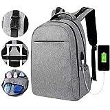 VBIGER Sac Ordinateur Portable 17 Pouces Étanche Port USB 2 en 1 Sac à Langer Bebe Sac de Voyage Imperméable