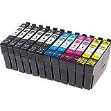 12x Cartouches d'encre compatibles Epson 29 XL 29XL pour Epson Expression Home XP-235 XP-332 XP-335 XP-432 XP-245 XP-247 XP-342 XP-345 XP-435 XP-442 XP -445