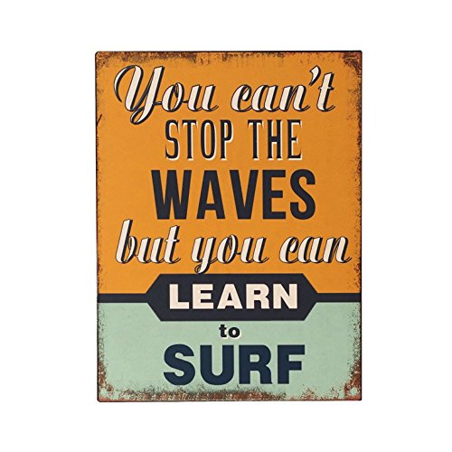 plaque-metal-murale-lean-to-surf-the-waves