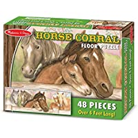 Horse and foal floor puzzle